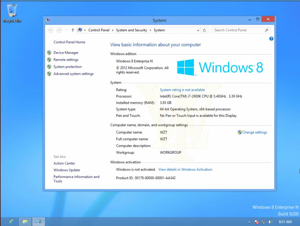 como activar windows 8 build 9200